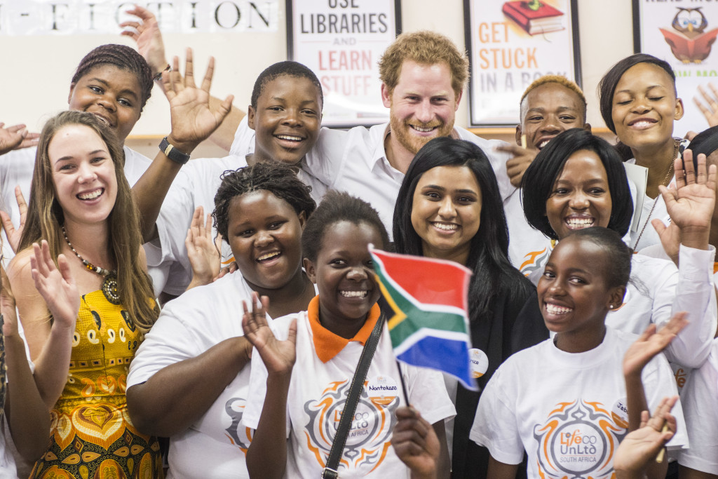 Comic Relief_Prince Harry_South Africa_WS_070_