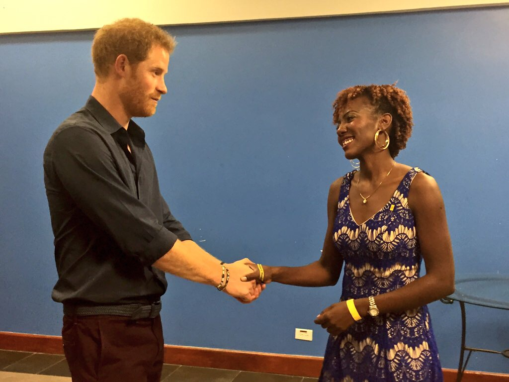 Prince Harry and Jamilla